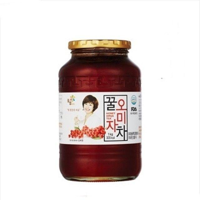 꽃샘 오미자차 1kg/오미자청