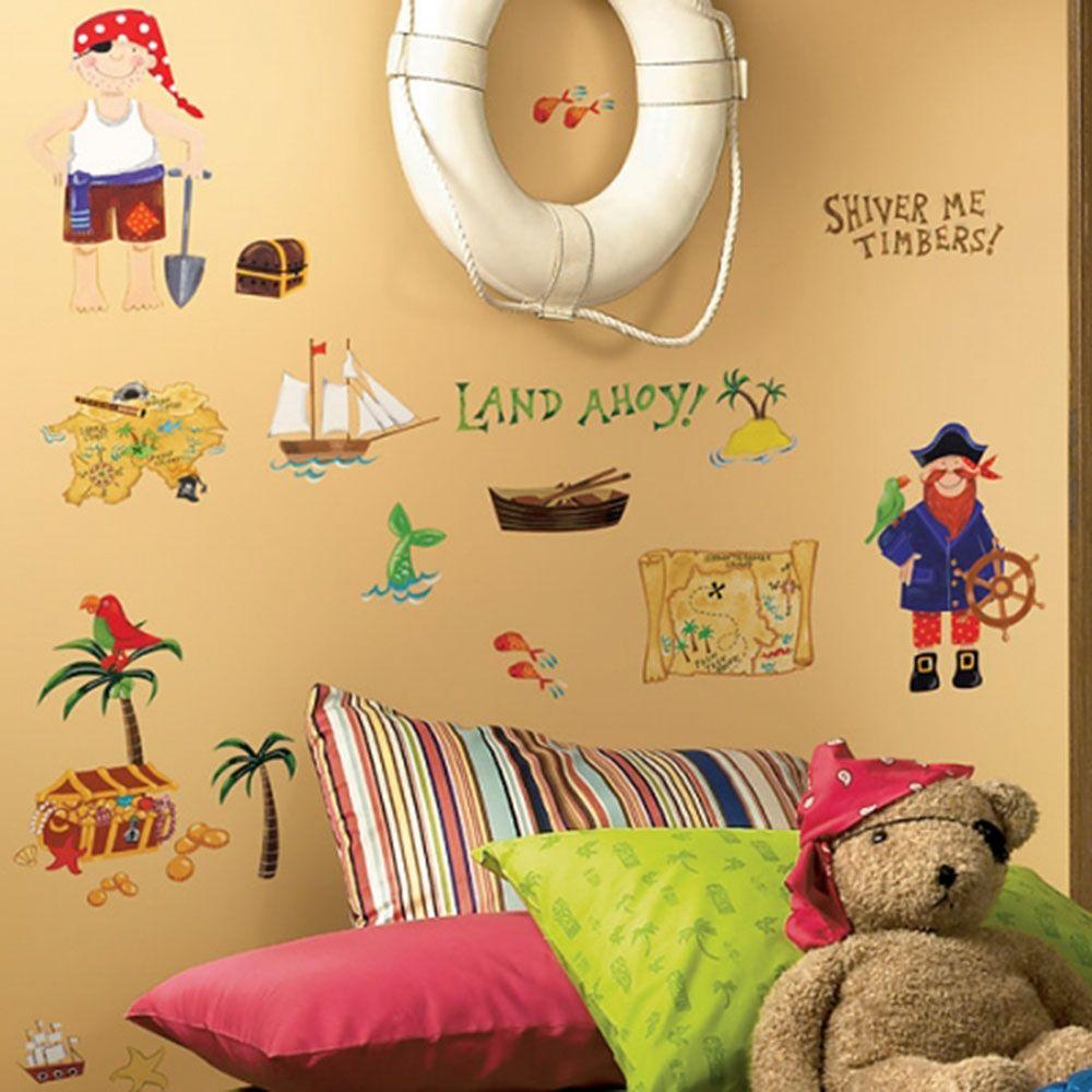 어린이집 아이방 DIY 데코 시트 보물 사냥꾼 공간