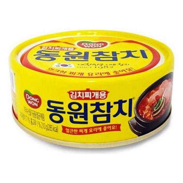 김치찌개용 동원 참치 얼큰한 찌개요리용 통조림 210g