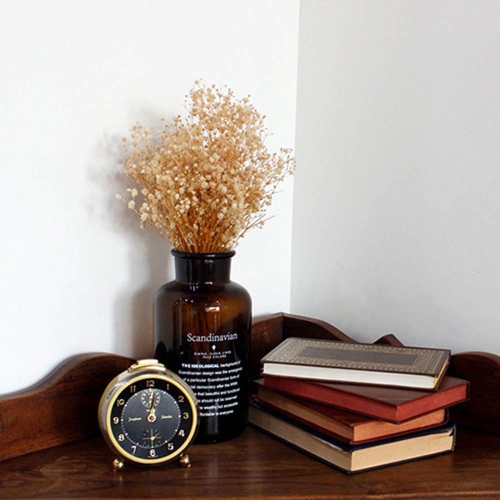 클래식 스칸디나비안 보틀 꽃병 테이블 창틀 선반