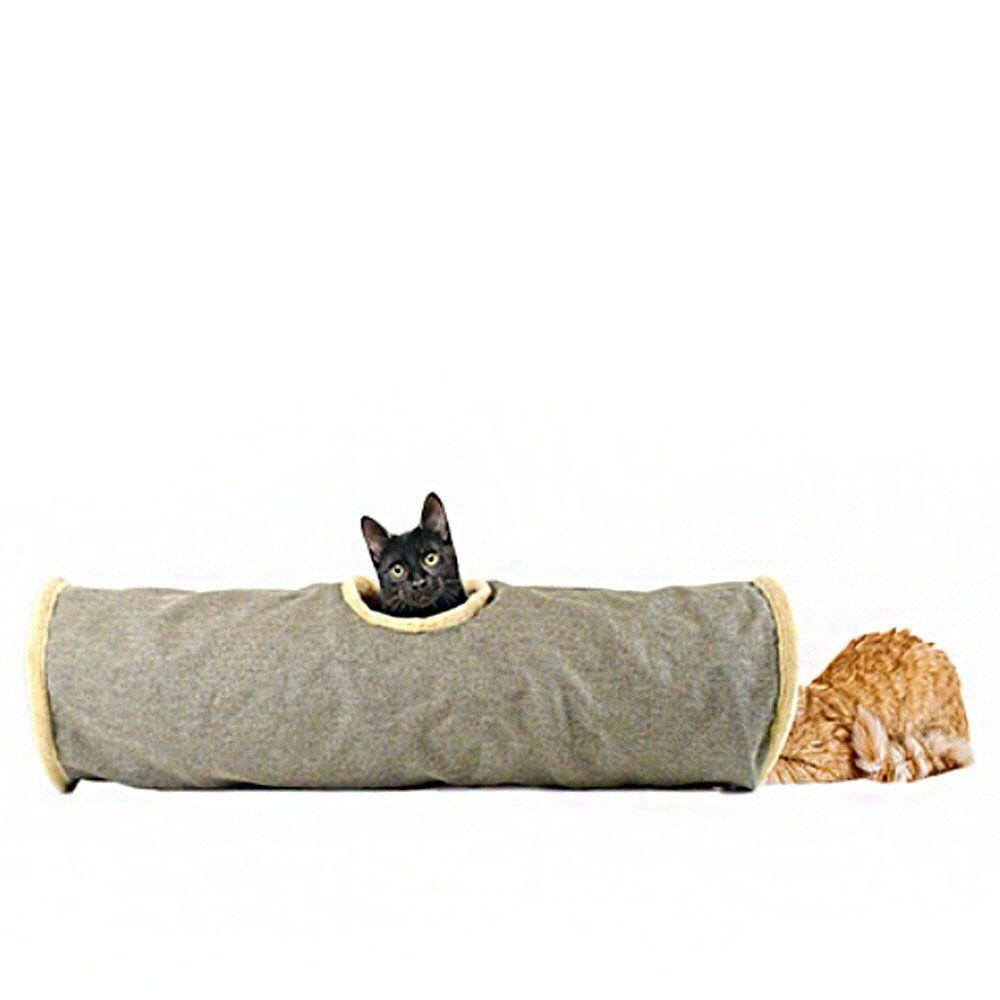 캣 터널 도브그레이 고양이 놀이터 장난감