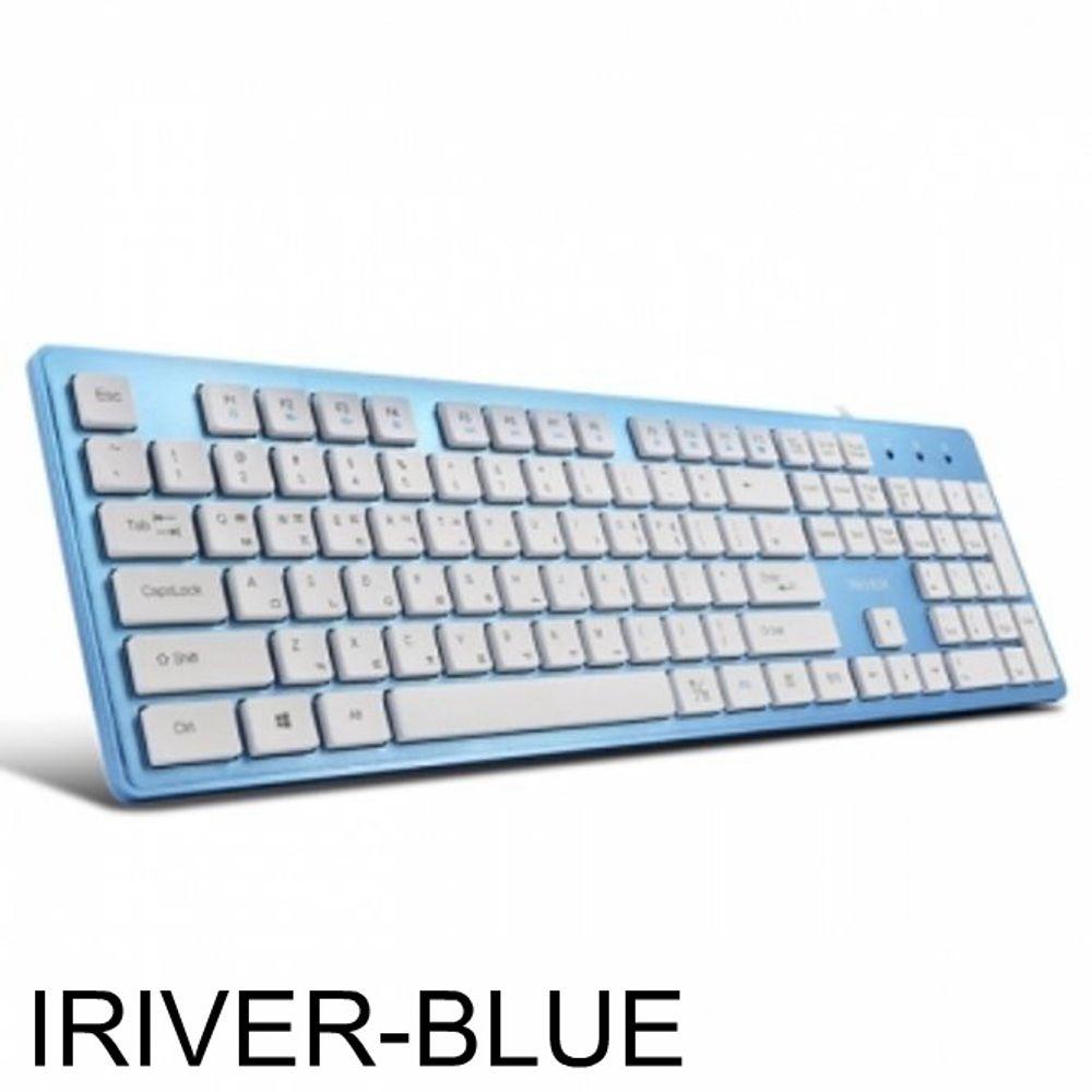 PC시리즈 IRIVER 아이솔레이션 IR-K2000 블루 키보드