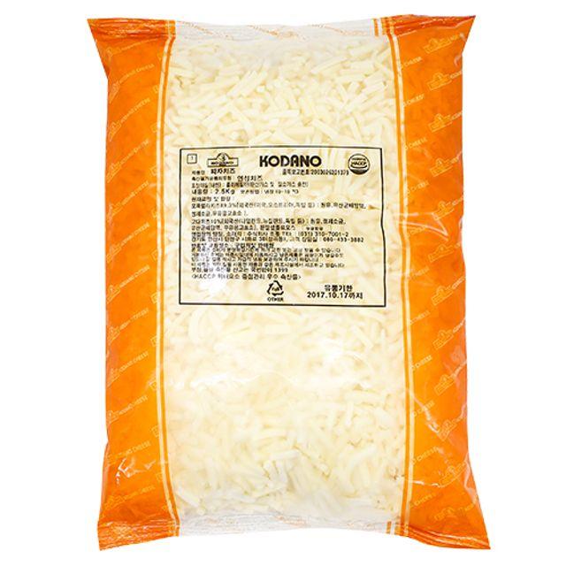 모짜렐라 고다 코다노 피자치즈 2.5kg