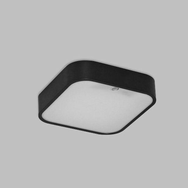 한승/LED/무타공/시스템/센서등 15W/블랙 등기구 LED 방등 조명 거실등
