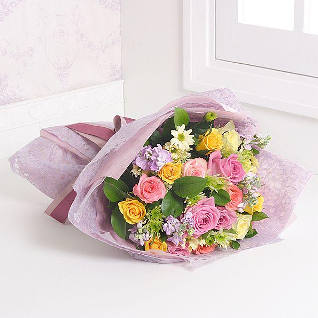 해피 꽃다발-중급 3시간배송 전국 꽃배달 총알배송 고백 결혼 기념일 감사선물