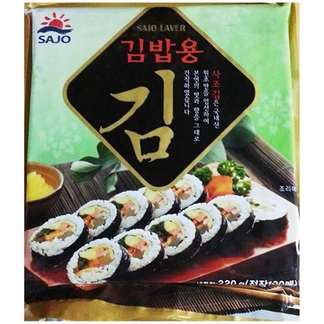 사조 김밥용김 구운 김밥김 100매 60EA