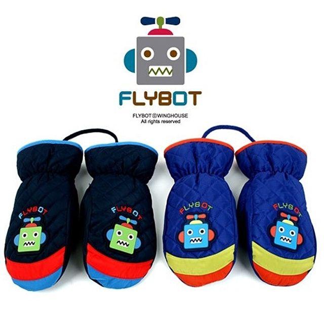 어린이 장갑 FL0065 플라이봇네온패딩장갑(S)