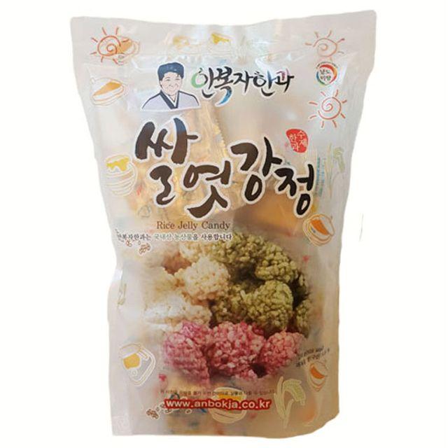 안복자한과 쌀엿강정250g (개별포장) 전통엿강정 간식