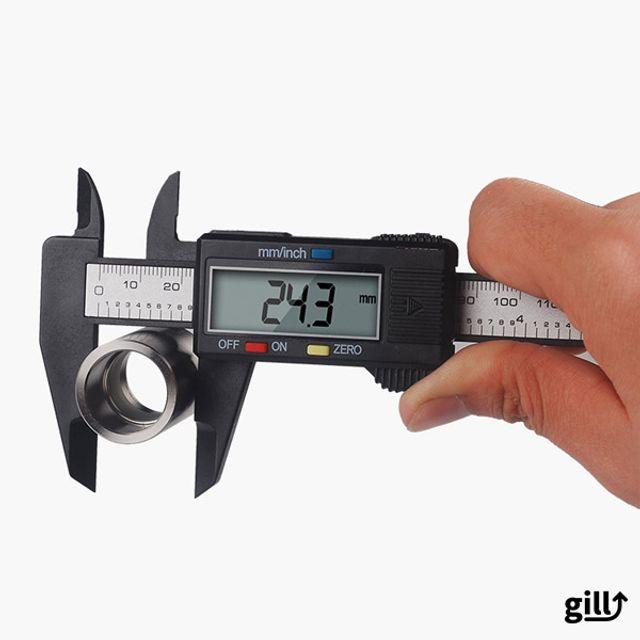 버니어 캘리퍼스 150mm 디지털 노기스 정밀계측기
