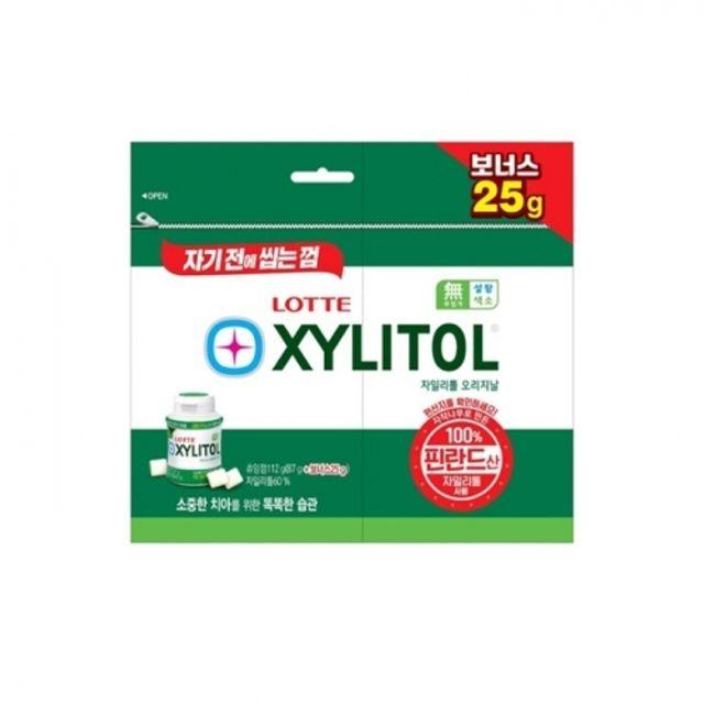 자일리톨 오리지날 (87g+보너스25g) 24개 대용량 리