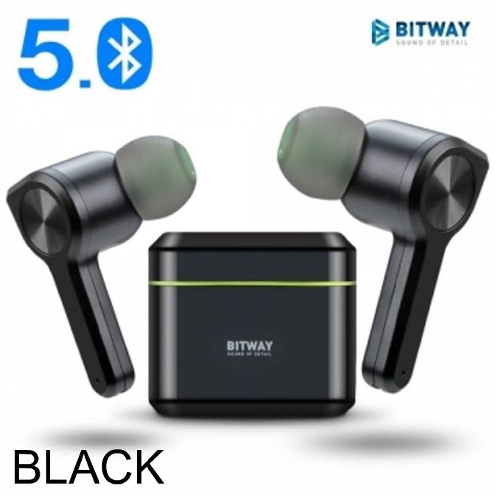 사운드list BITWAY GW-15 무선 믈루투스 이어폰 블랙