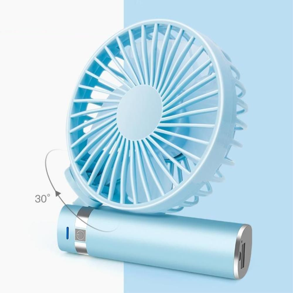 (3개묶음)접이식 휴대용 손선풍기 무드등효과