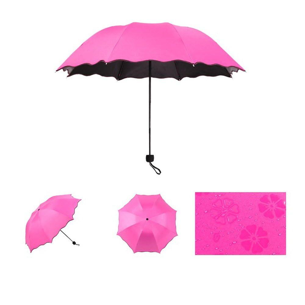 자외선 차단 양산 강력 방수 3단 고급 수동 양우산