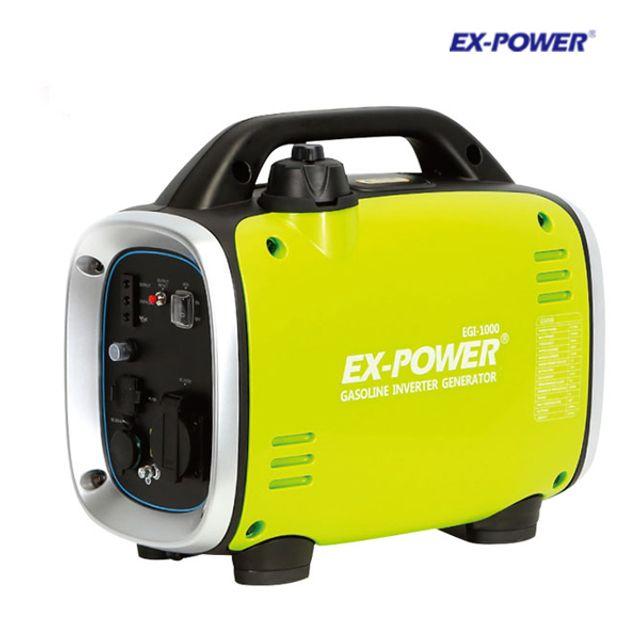 이엑스파워 휴대용 캠핑용 발전기 EGI-1000 0.8KW