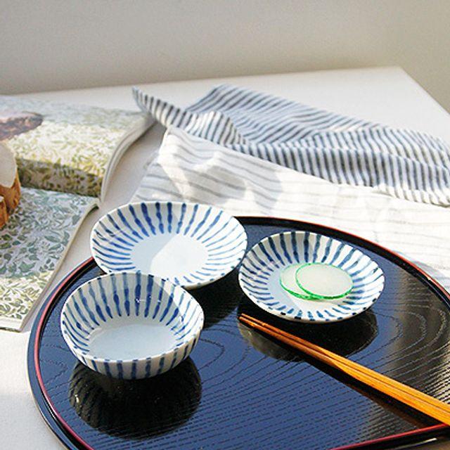 일본쟁반 1인 식판으로도 좋은 일본산 레이카 양면 트레이 오반자이쟁반 우드쟁반
