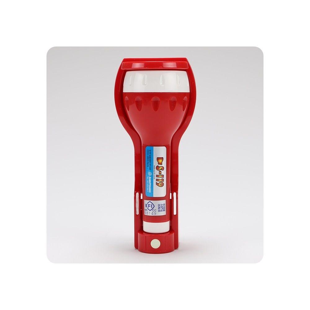 휴대용비상조명등 신영 LED FI인증 (무음) 소화기받