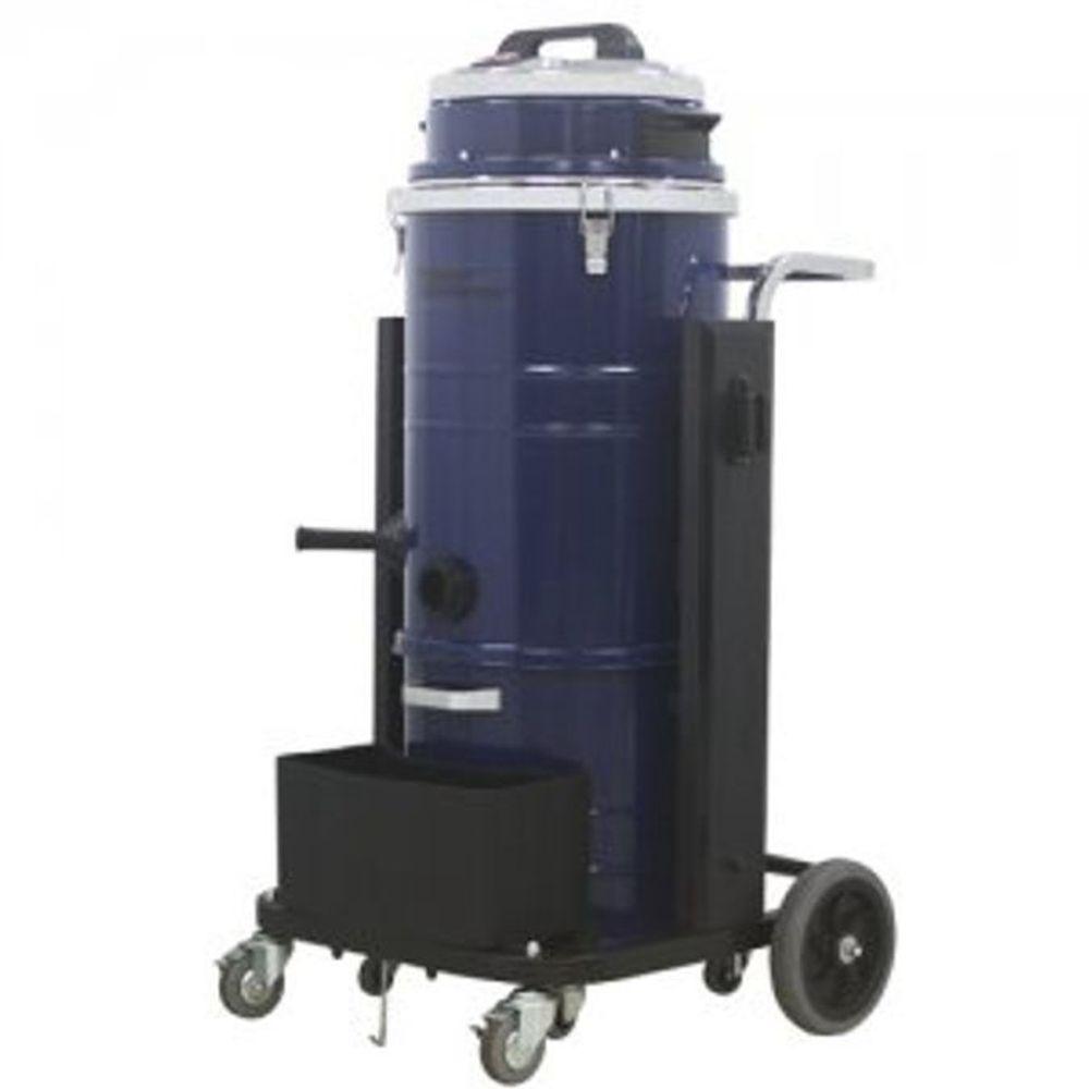 공업용 건습식 청소기 3모터 75L 업소 산업용 청소기