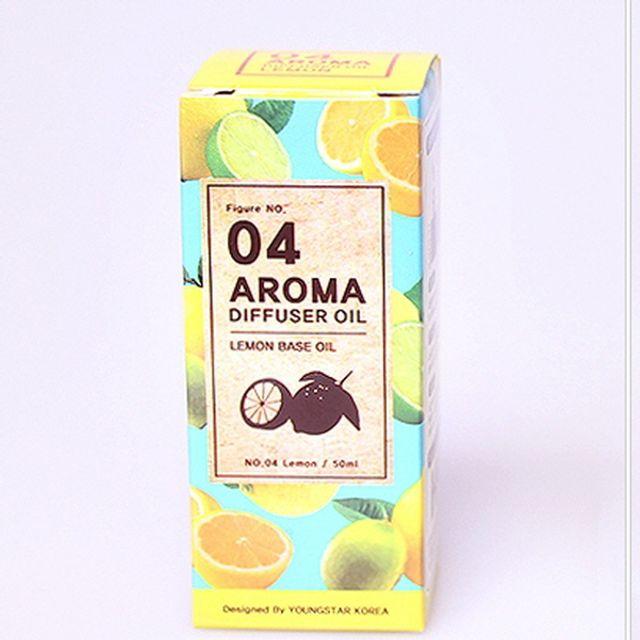 좋은 냄새 향기 아로마 디퓨져 오일 30ml 상큼 레몬