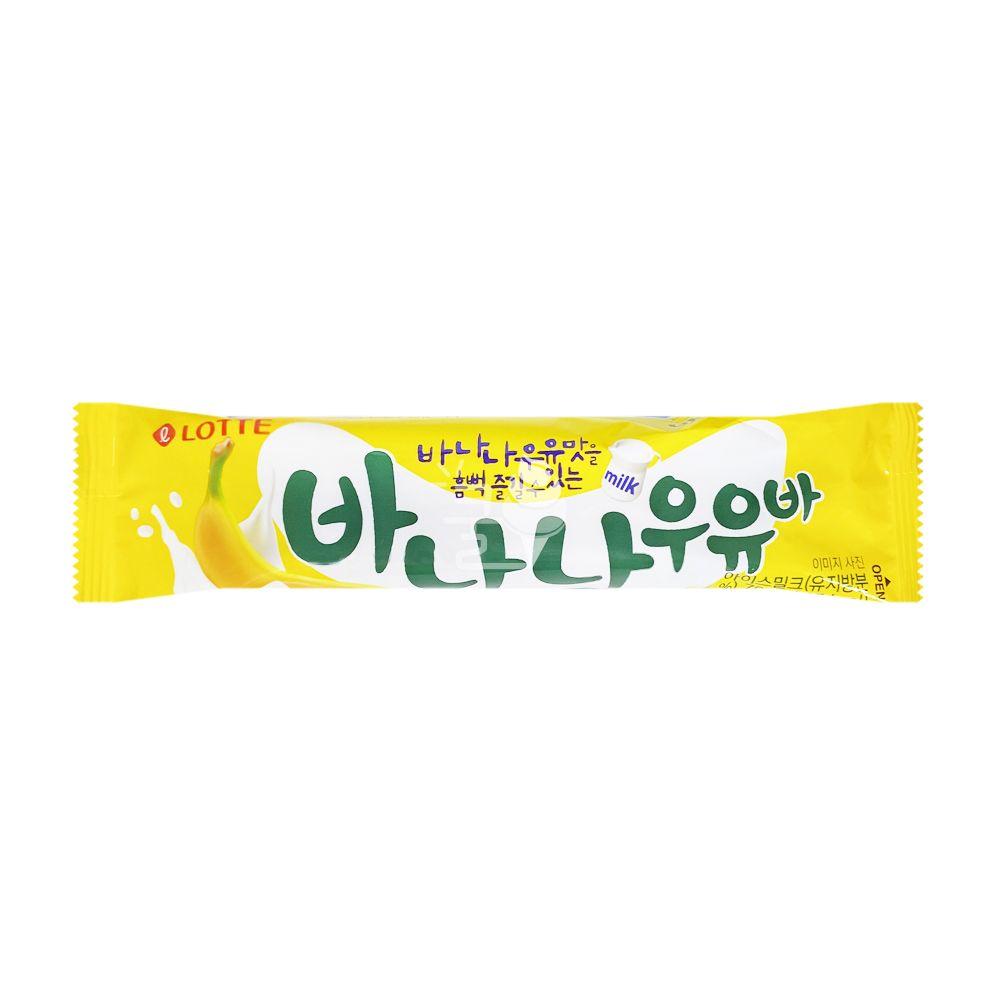 롯데제과) 바나나우유바 1박스 (40개입)