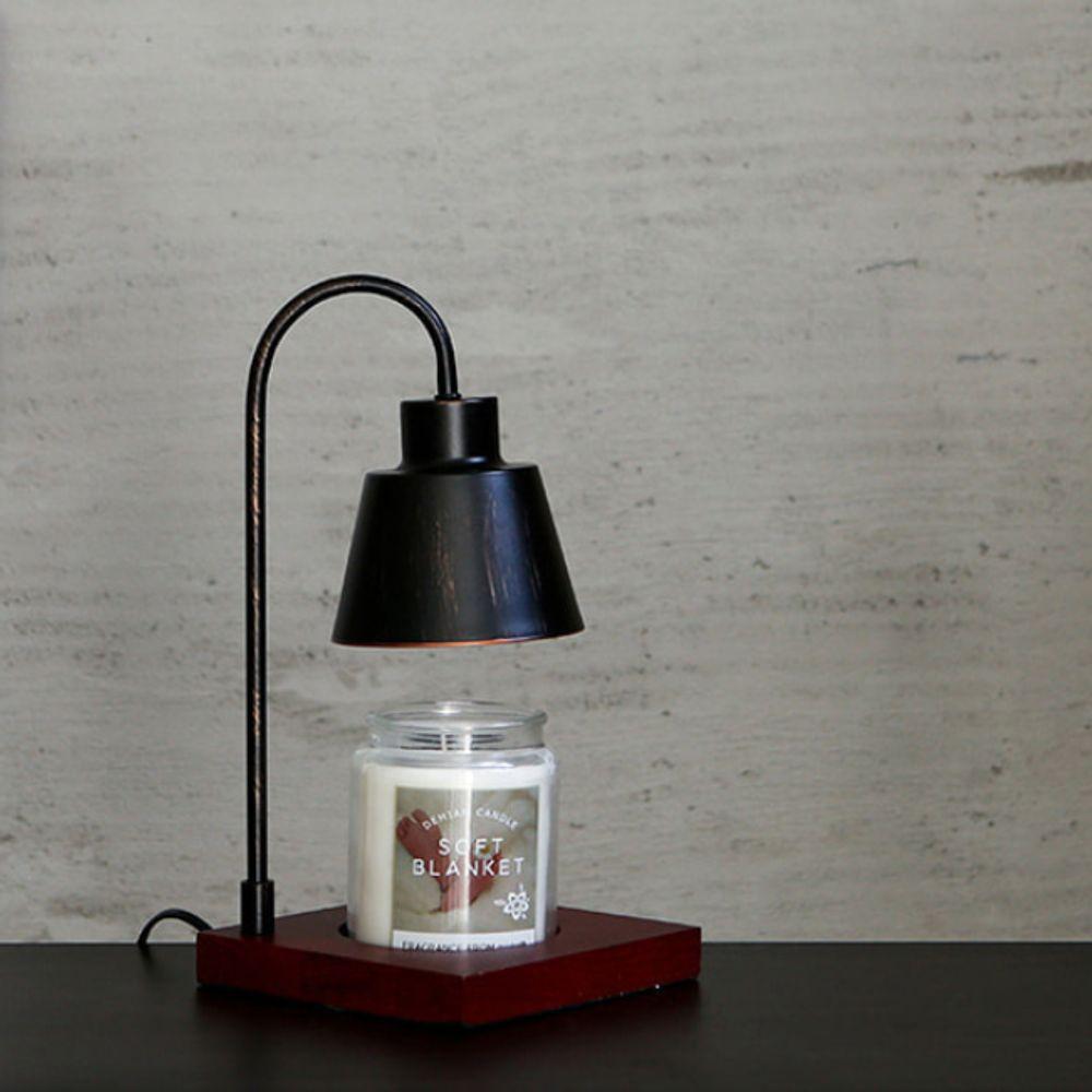 마켓비 NEW SAMONY 캔들 램프 앤틱블랙 체리+향초