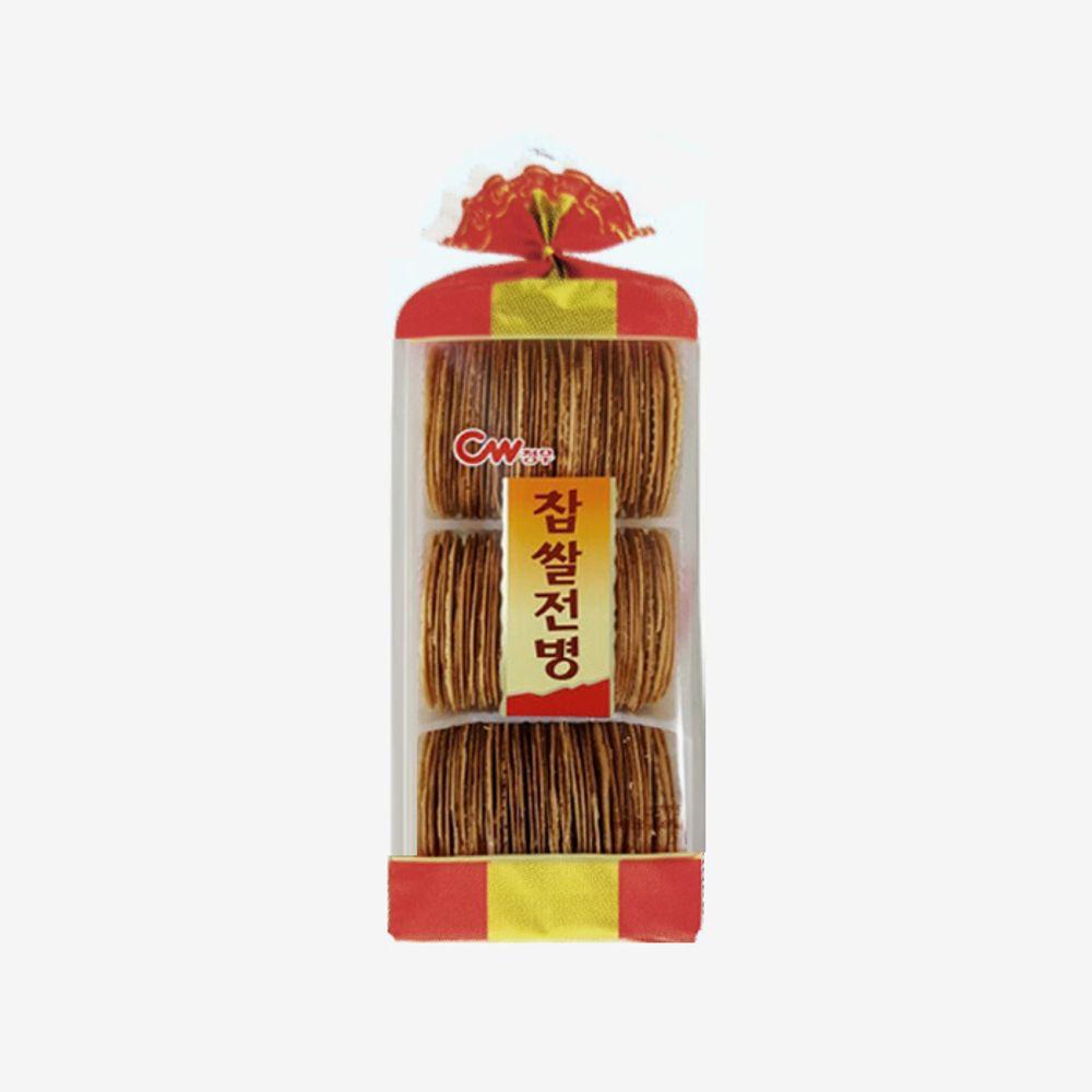 청우 간식 찹쌀전병 350g 10ea 1 BOX