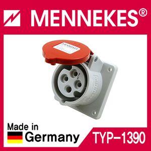 아이티알,MT MENKS TYP 1390 400V 16A 4P 판넬형 소켓 직선형
