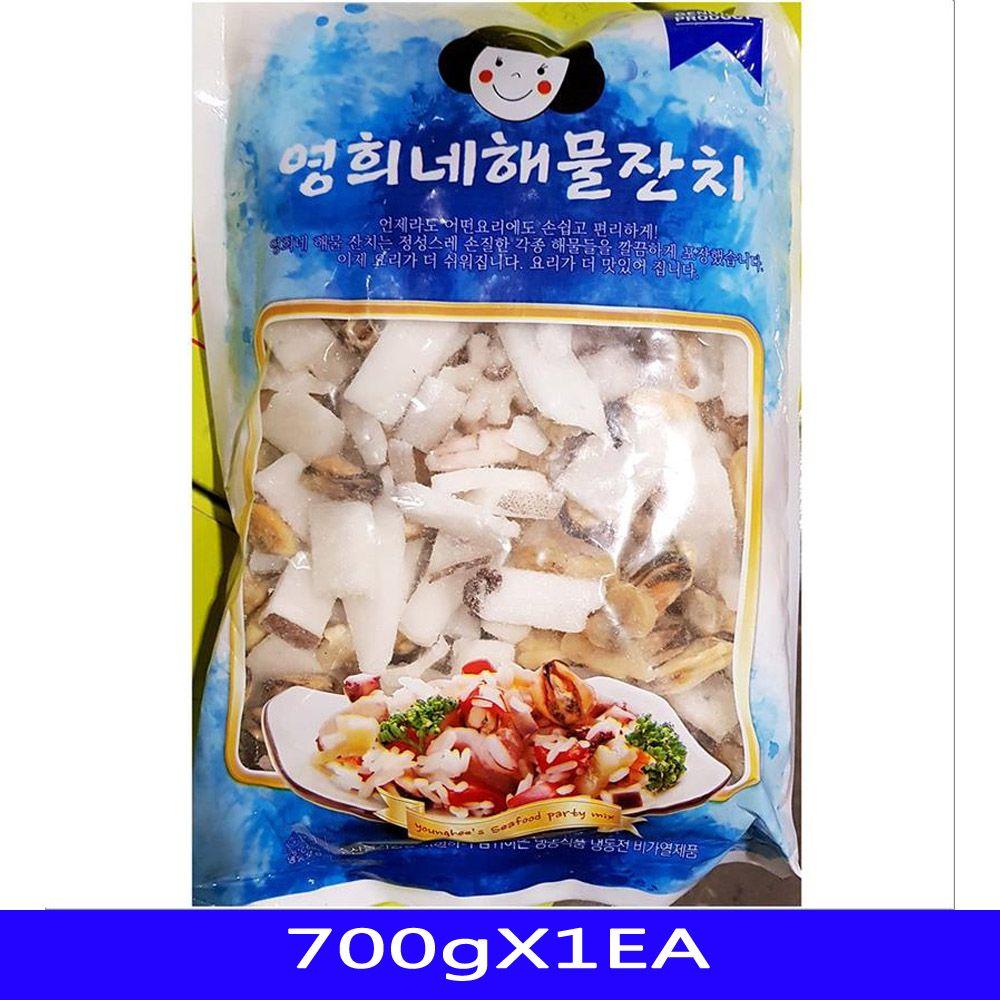 냉동수산물 해물모듬 해주씨푸드 700gX1EA
