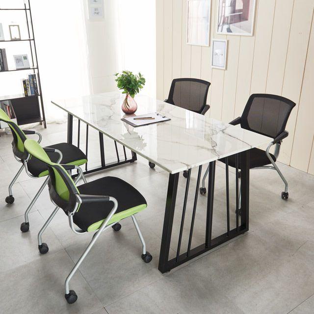 대리석테이블세트 1500 포그니체어 멀티책상 의자4개