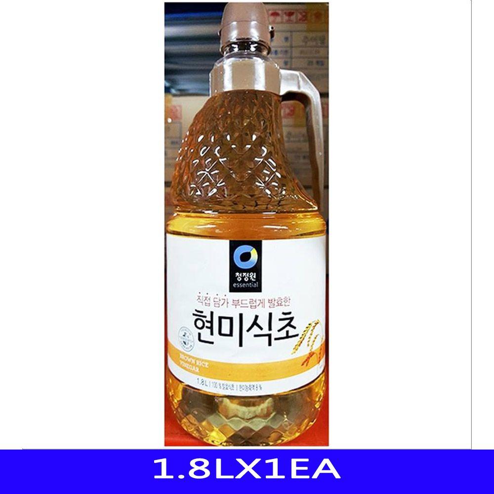 발효 현미 식초 업소용 식재료 대상 1.8LX1EA