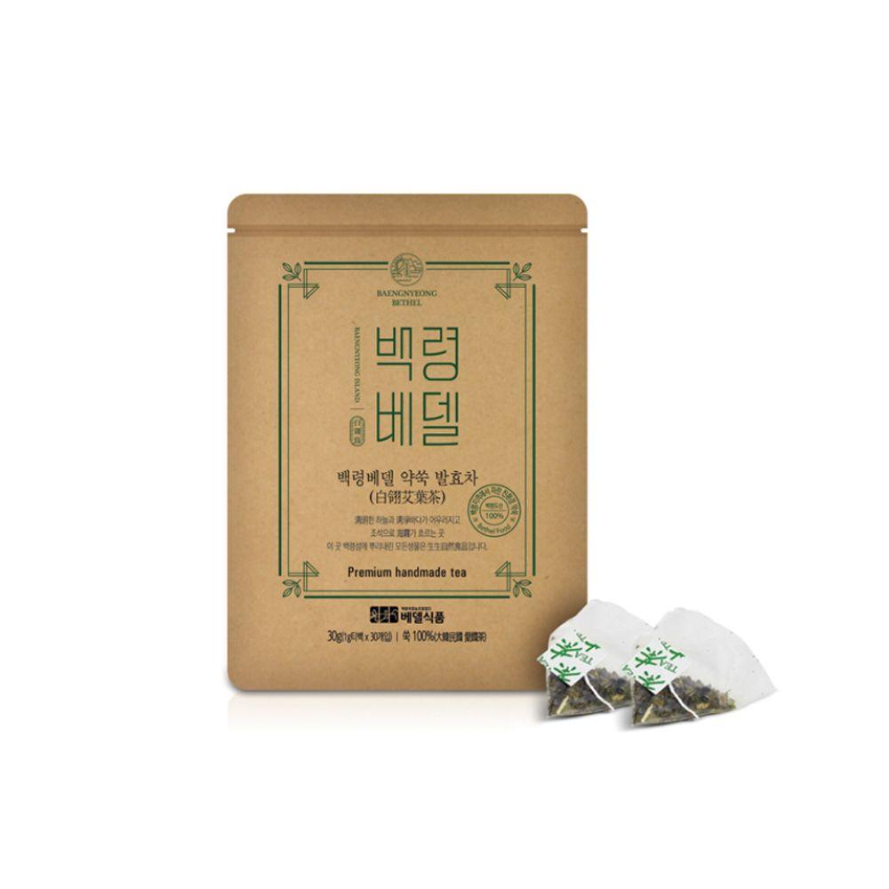 베델식품 백령도 발효약쑥차 30g 청청 자연식품