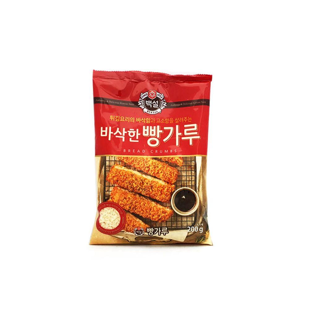 바삭하고 고소한 백설 바삭한 빵가루 200g/ 튀김요리