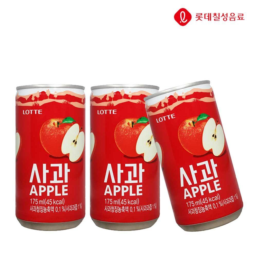 사과 175ml X 30개(업소용) 과채음료/과즙/캔음료