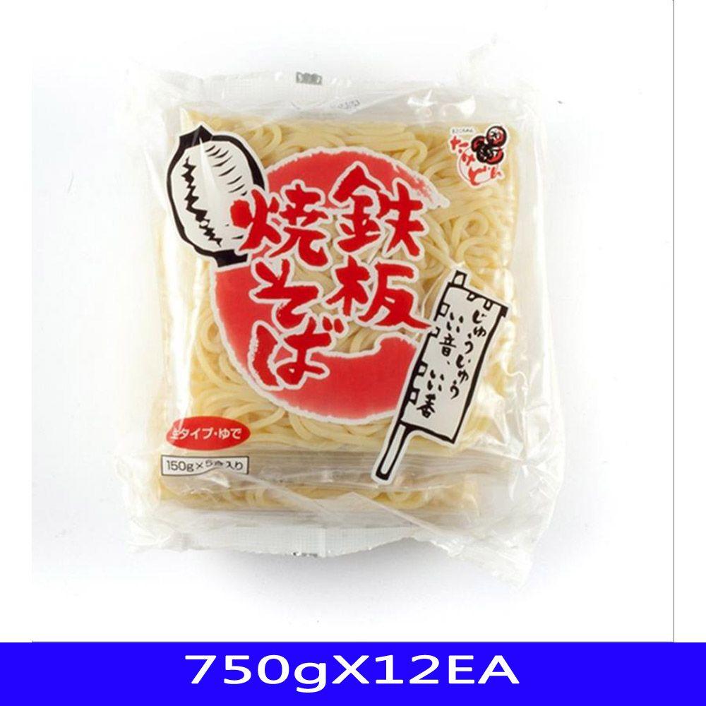 모밀면 소바면 유데야끼소바 한진푸드 750gX12EA