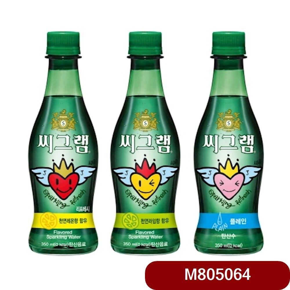 코카 씨그램 라임 350㎖ 24입 코카콜라씨그램 음료수