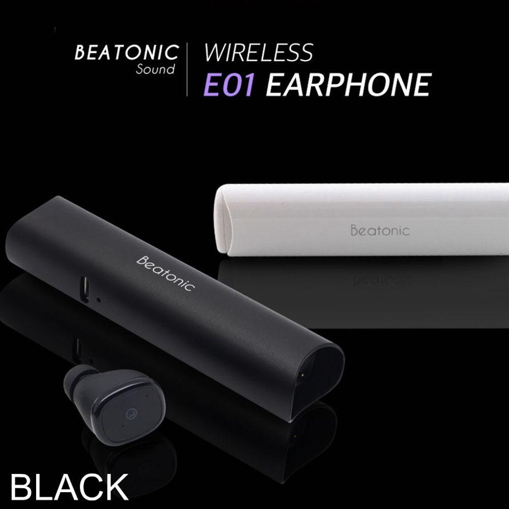 사운드list ABKO BEATONIC E01 블랙 블루투스 이어폰