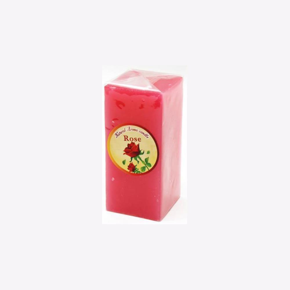 아로마향초 캔들 사각 아로마 향초 중 11cm 방향제 캔들-색상랜덤발송 인테리어소품 양초