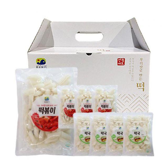 떡국떡 4봉+떡볶이떡 4봉 선물세트
