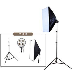 아이티알,LX 쇼핑몰 스튜디오 LED 촬영 조명 1인개인방송장비 4구
