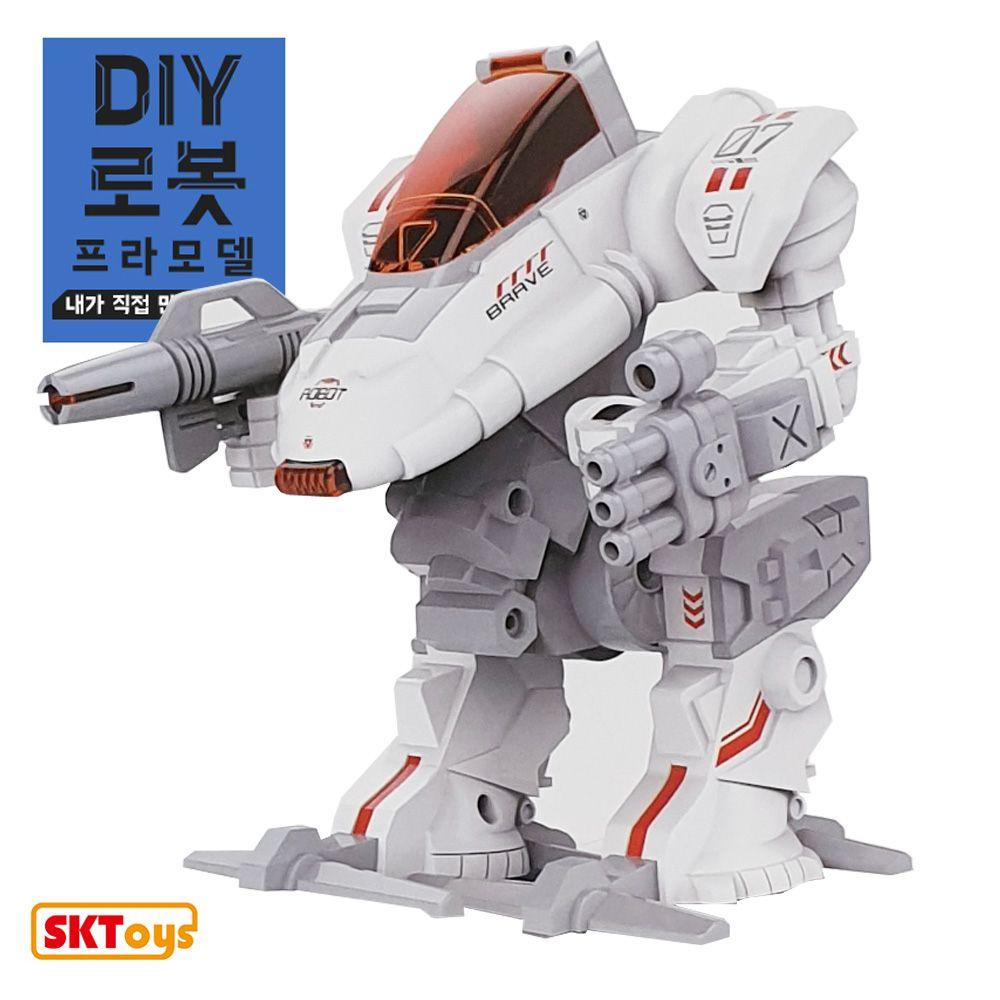 DIY 로보트 프라모델 보행작동 로봇
