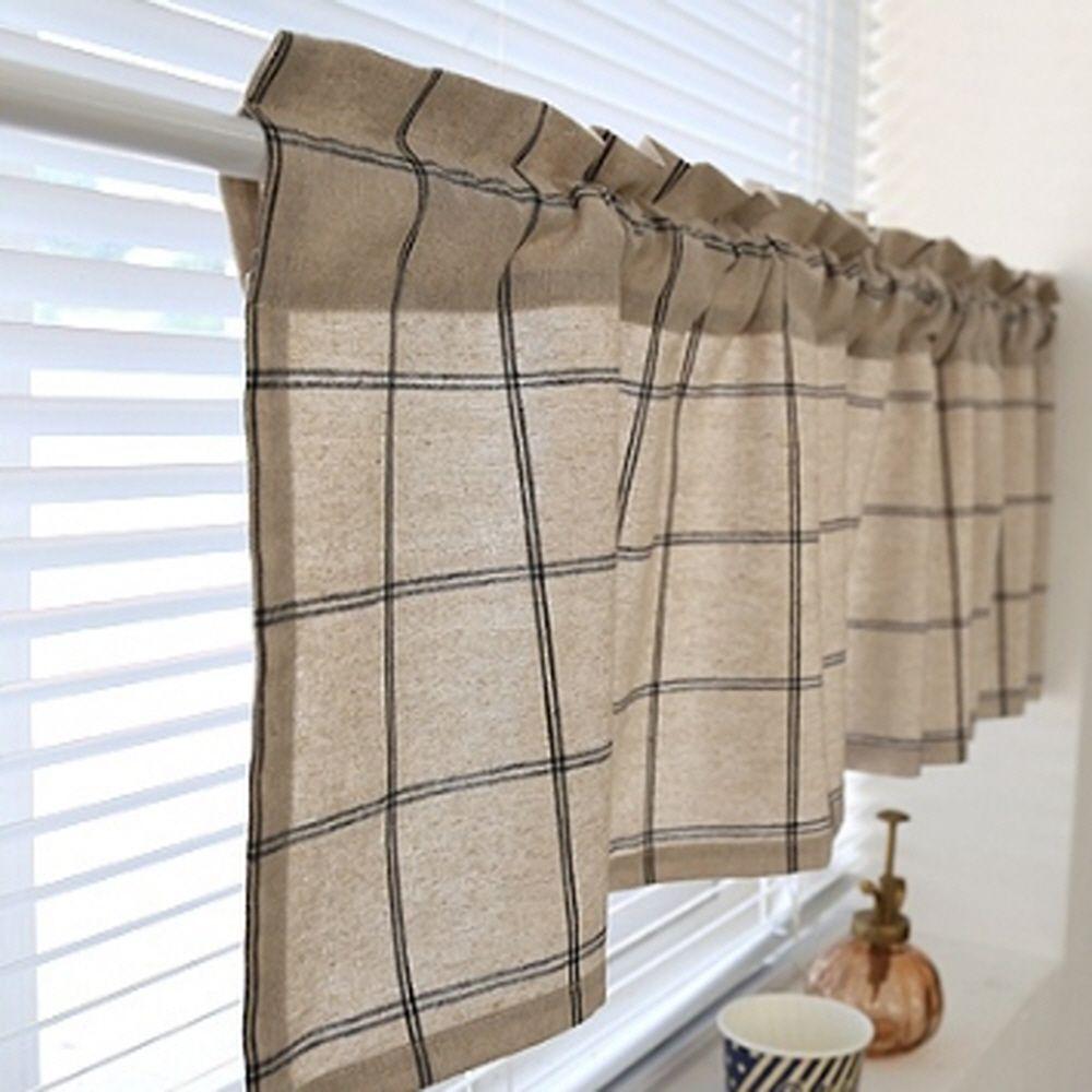 주방 거실 욕실 작은 창문 가리개 가림막 바란스