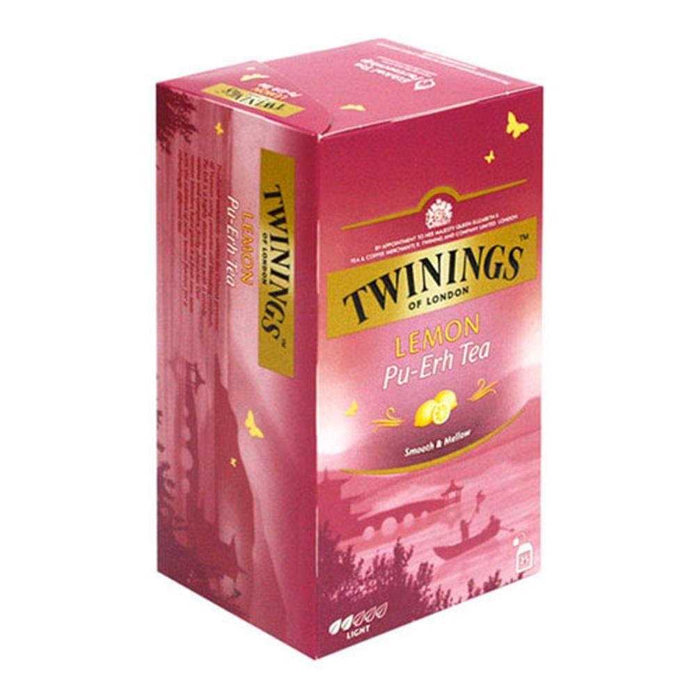 레몬 보이차 티백 2gX25p Twinings 푸얼차 운남성