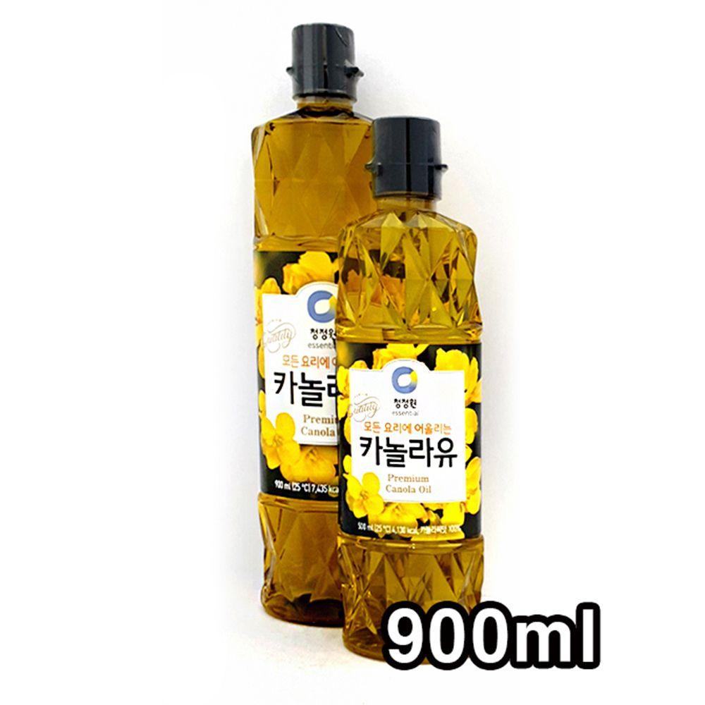 청정원 식용유 모든 요리유 카놀라유 900ml