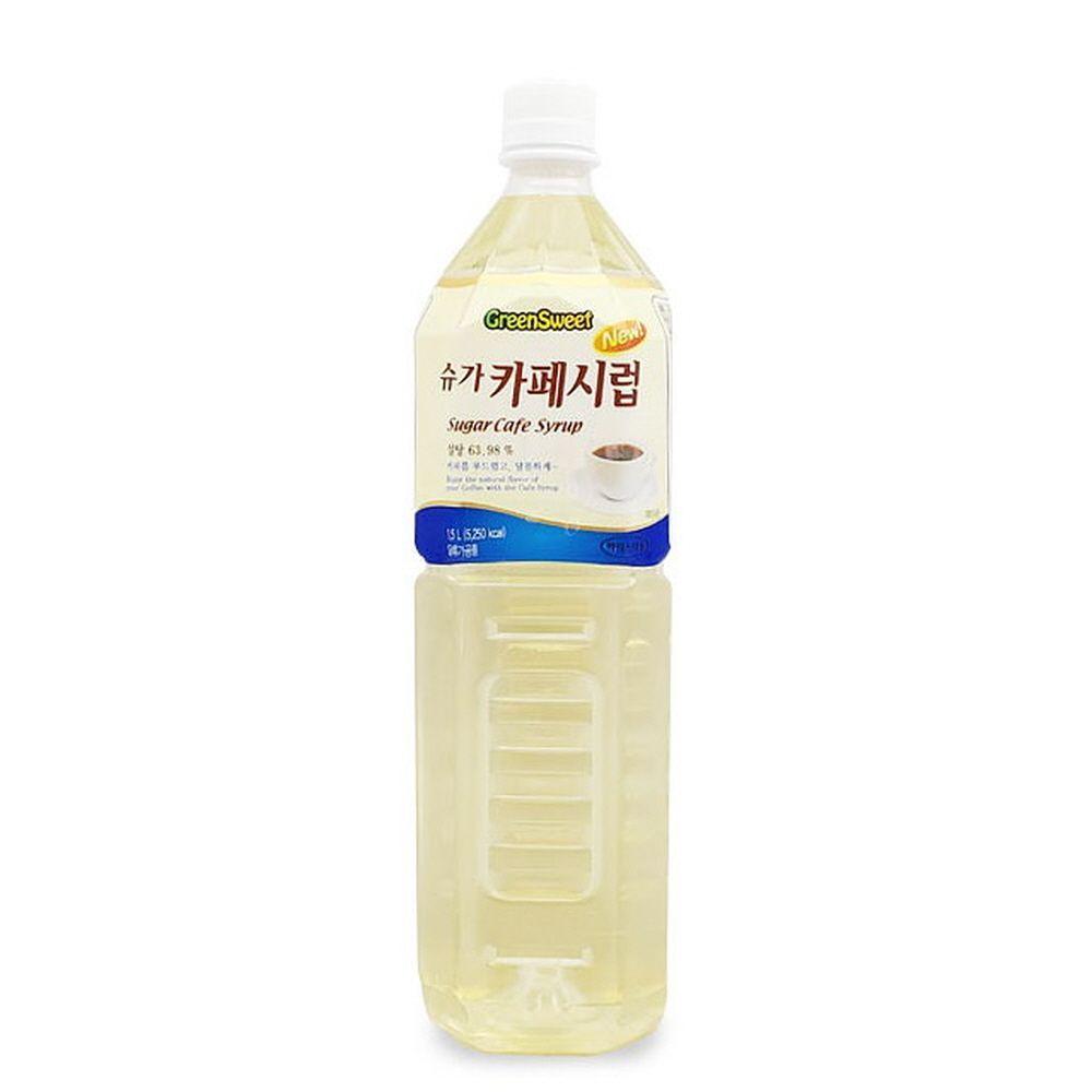 부드럽고 달콤한 풍미 슈가 카페시럽 1.5리터