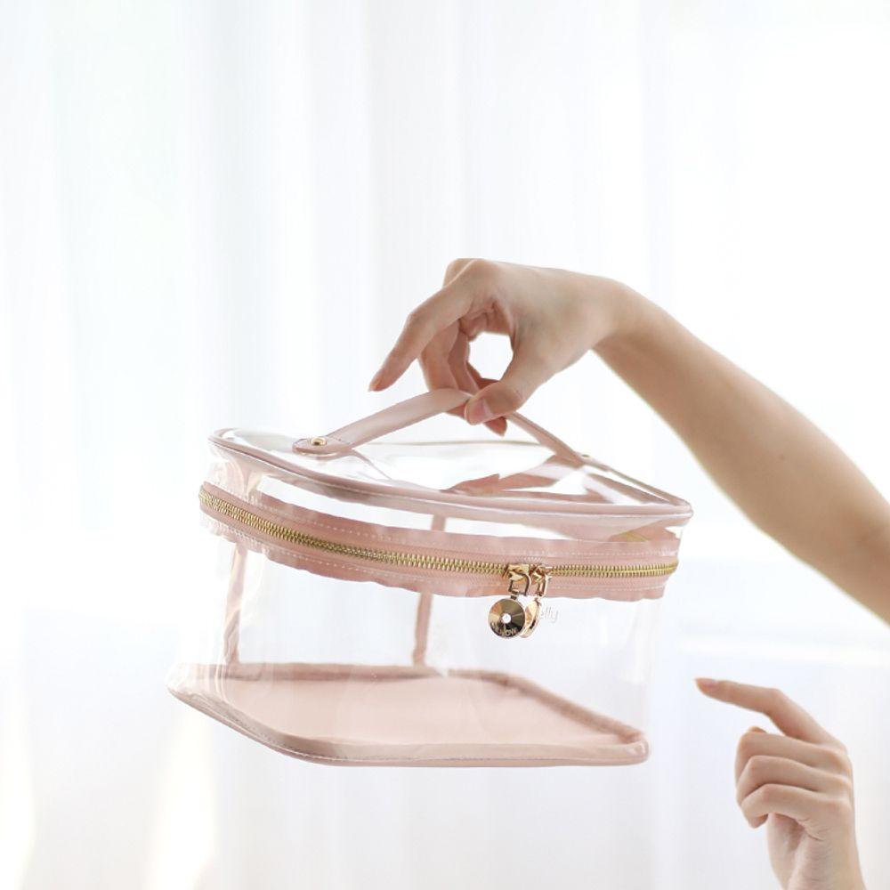 [더산직구]EACHY 화장품 가방 휴대용 다기능 대용량 소녀가방/ 배송기간 영업일기준 7~15일