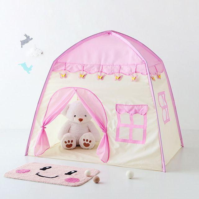 마켓비 INSIA 유아하우스 어린이텐트 ISC0033 핑크