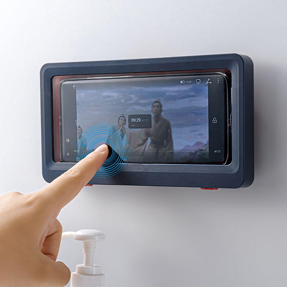 욕실 화장실 방수 스마트폰 거치대