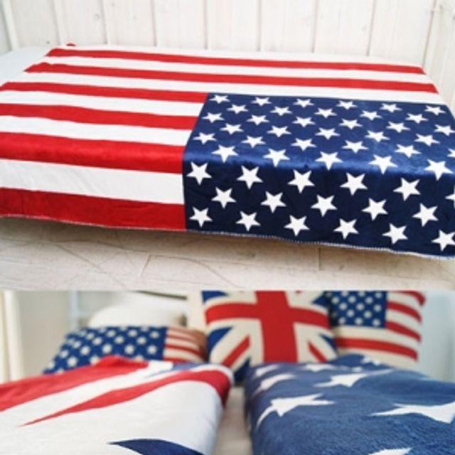 따뜻한 잉글랜드 아메리카 담요 2 size