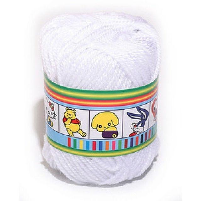 털실(하양-45g)공작 공예 미술준비물 학습용품