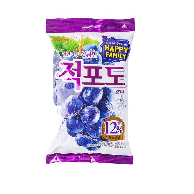 롯데)적포도캔디153gx1개입