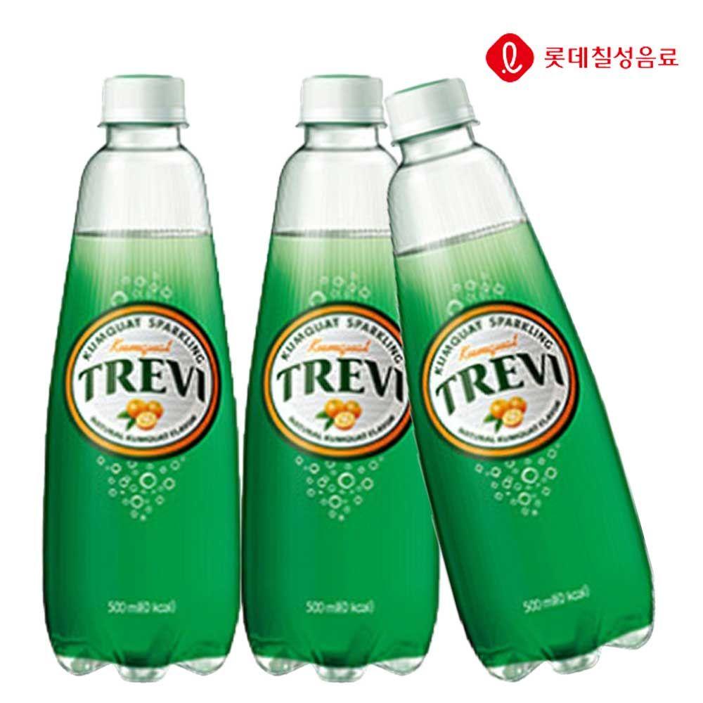 트레비 금귤 500ml X 12개 탄산음료/탄산수/탄산/음료